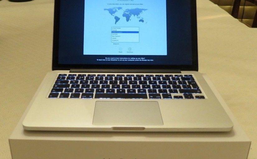 2015 Apple MacBook Pro Retina 13.3″ 2.6GHz i5 128GB, 8GB RAM