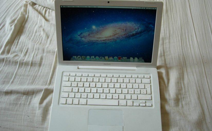 APPLE MACBOOK BLANC 2,4Ghz MAC OS LION BATT OK
