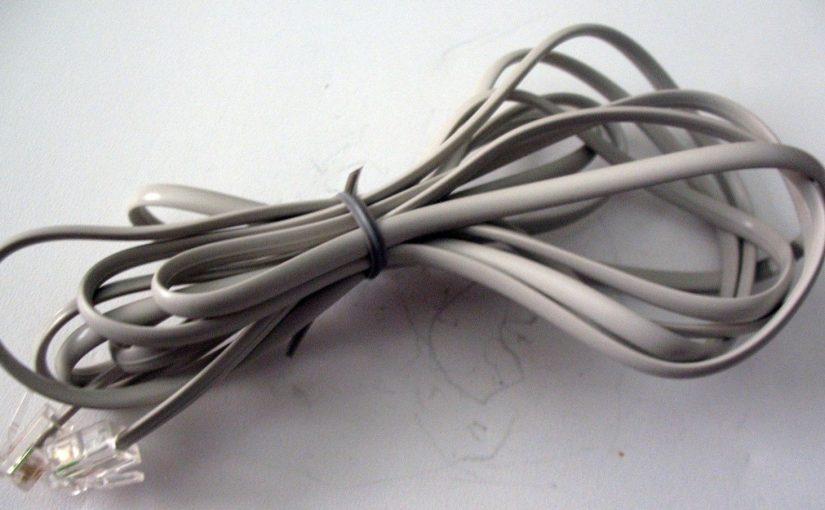 Câble informatique RJ11 – Longueur 2 mètres – 02