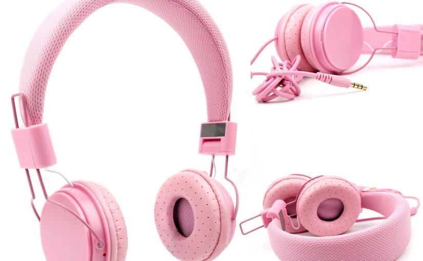 Casque rose enfant pour PC ESSENTIELB Smart'MOUV, Smart'MOUV W10 –  microphone
