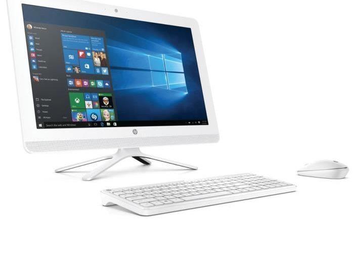 HP PC tout en un- 22b011nf- 22″ FHD- 4 Go de RAM – Windows 10 – Intel Pentium J3