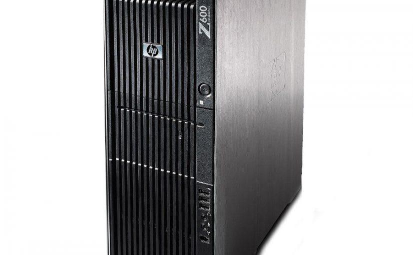 HP Z600 Workstation Intel Xeon Quad Core 4x 2,4 GHz 16 GB RAM 1 TB HDD Win 10
