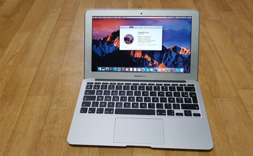 macbook air 11″ mi-2012 512Go
