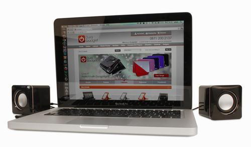 Mini enceintes haut-parleurs USB pour ordinateurs Apple MacBook (tous modèles)