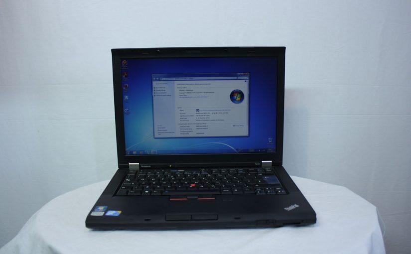 ordinateur portable IBM Lenovo T410 14.1» Core I5 2.53Ghz 4 GO 160GB Windows 7