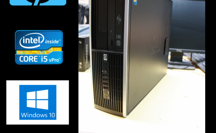 PC HP 8100 ELITE SFF-INTEL CORE I5 3.20ghz-RAM 4GB- HDD 500GB-WIN.10