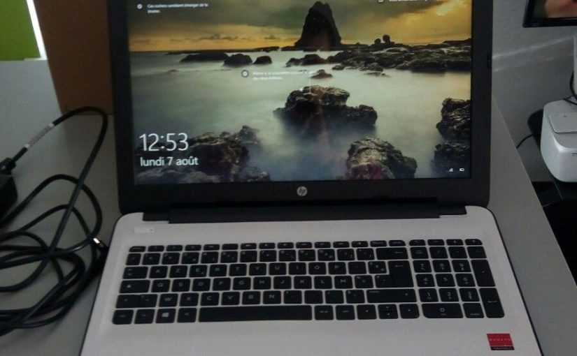 PC portable HP 15,6 pouces