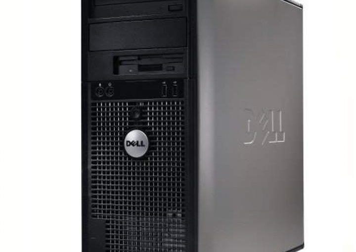 PC TOUR ordinateur DELL optiplex 755MT Core 2 Duo windows 10 pro