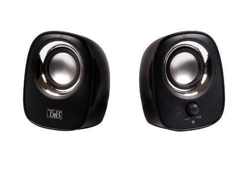 T'nB – MX series Haut-parleurs 2.0 pour PC et Mac – – [HPMX20BK] [Noir] NEUF