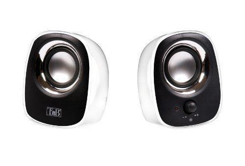 T'nB – MX series – Haut-parleurs 2.0 pour PC et Mac – [HPMX20WH] [Blanc] NEUF