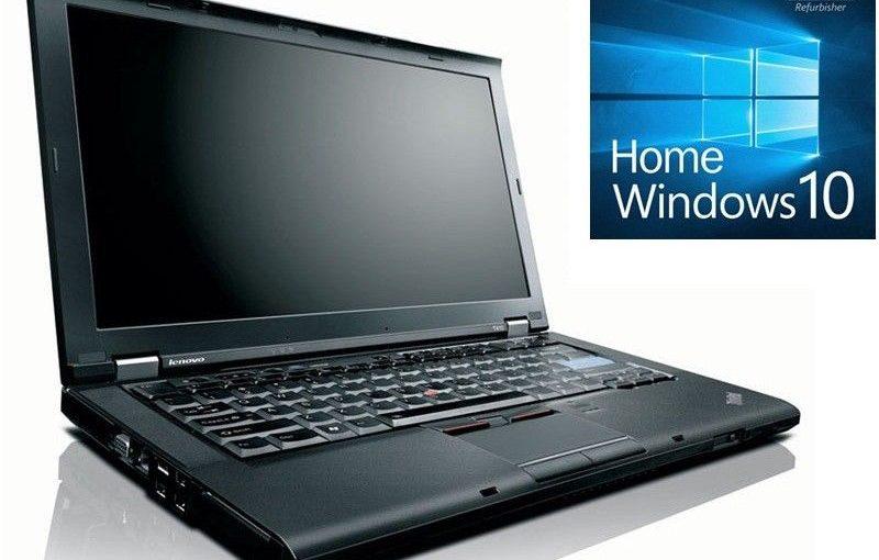 *3JahreGEWL* IBM/Lenovo ThinkPad T410 I5-560M 4GB 120GB SSD DRW WXGA+ Win10 Home