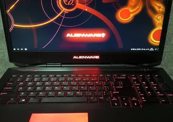 Alienware 17 i7-4800MQ 3,70GHz Turbo 12Go RAM 1.06To SSD GTX 765M Windows 10