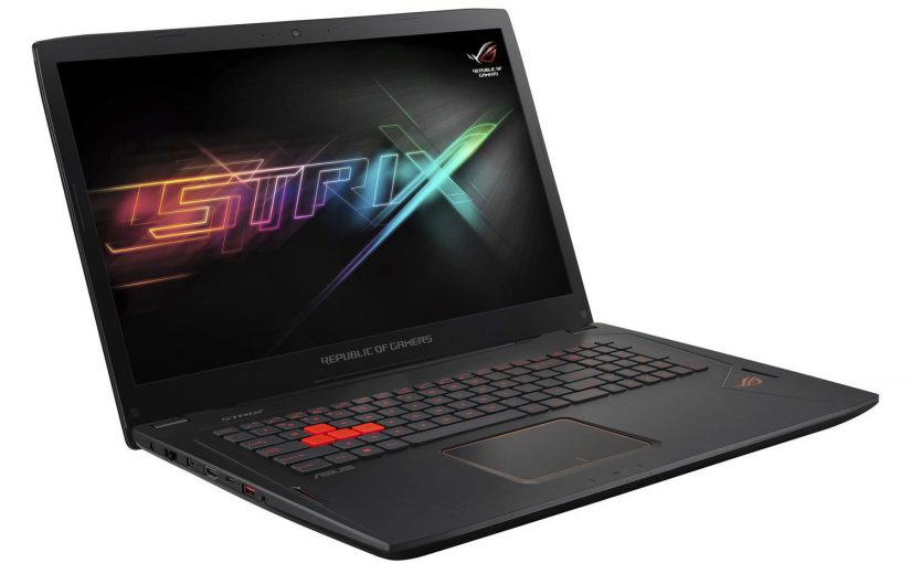 ASUS ROG GL702 Core i7-7700HQ – 32GB – GTX 1060 – 512GB SSD + 1TB – Windows 10