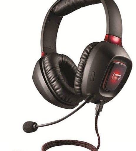 CREATIVE SB Tactic3D RAGE USB Gaming Headset Ohrhörer Kopfhörer Computer PC
