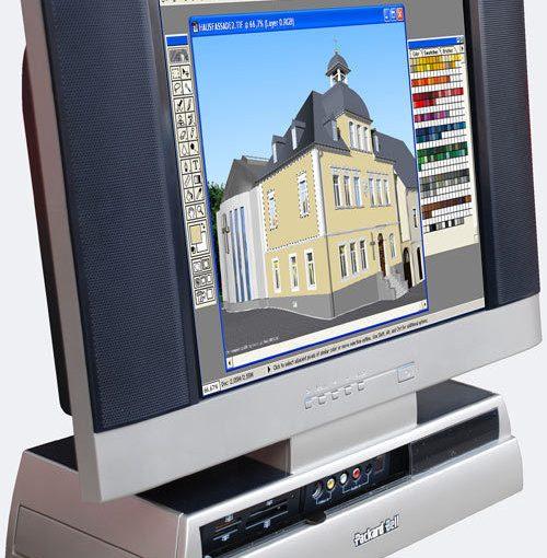GAMER-PC DVD-RECORDER LCD TV MONI COMPUTER ALL-IN-ONE S9200 4 GB RAM KLEIN VIVO