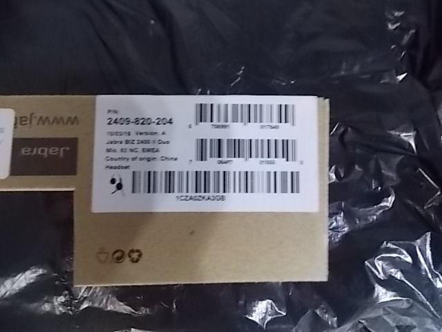 Jabra BIZ 2400 II DUO MIC. 82 NC EMEA, 2409-820-204 (EMEA)