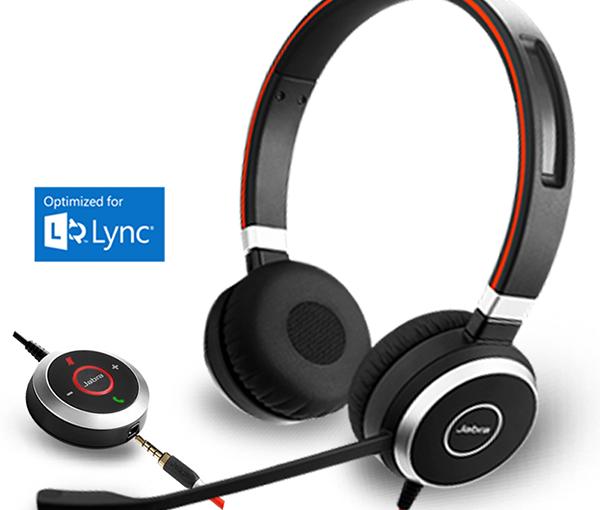 JABRA Evolve 40 MS Duo Stereo Headset USB NoiseCancelling Schnurgebunden NEU OVP