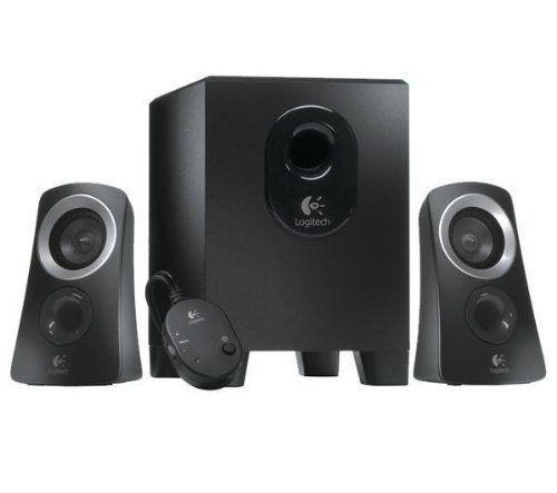 Logitech Haut-parleur System Z313 – 25W RMS – Subwoofer compact – Noir