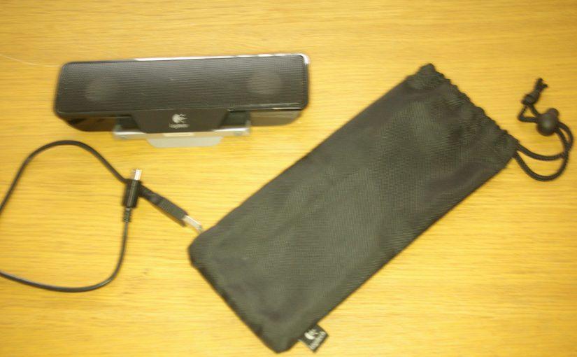 Logitech Z205 Clip-On USB Laptop Computer Speakers
