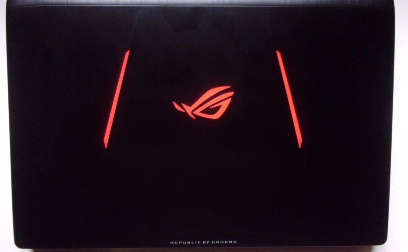ORDINATEUR ASUS GAMING NOTEBOOK PC STRIX