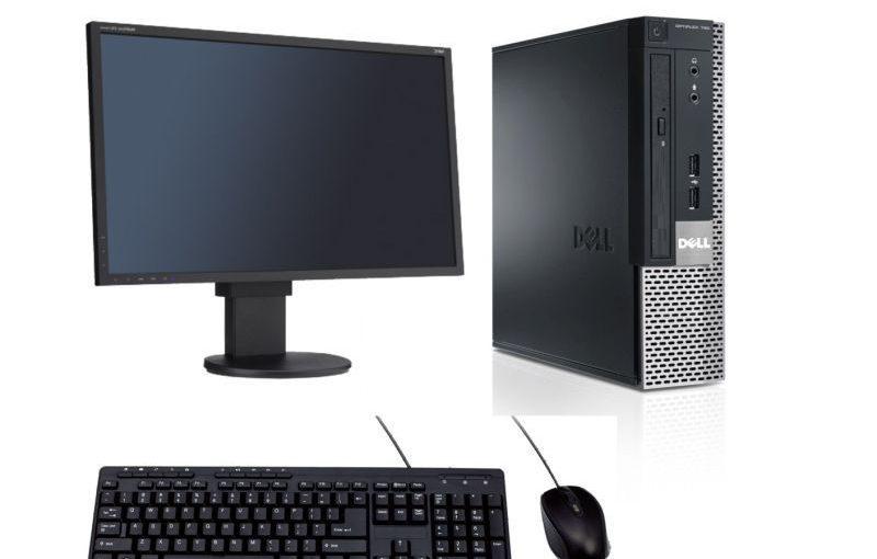 ordinateur de bureau dell optiplex 790  intel dual core 8go ram 250go disque dur