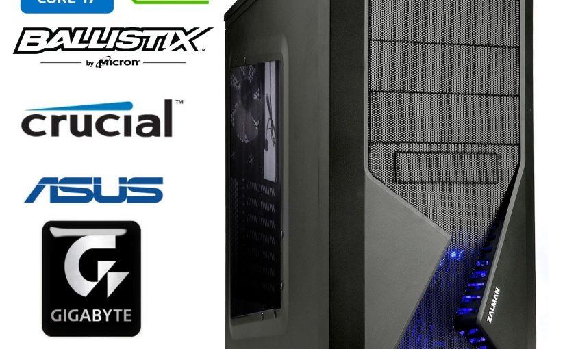 pc gamer i7 3770K 8X 4.10GHz ASUS P8Z77-V 16 phase / RAM 8GB