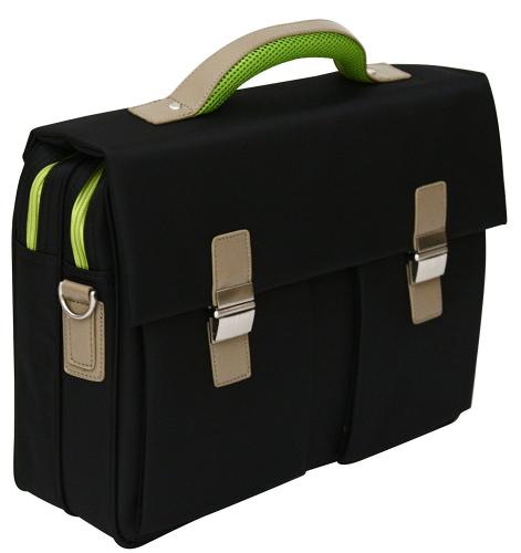 Achat sacoche porte documents souple pour ordinateur portable 15 6 passepoils ve pas cher - Porte ordinateur portable ...