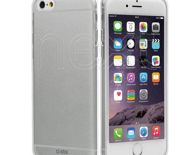 TECRYSTIP655T – SBS Cover Crystal per iPhone 6 Plus