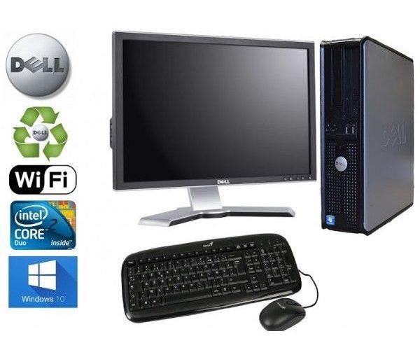 Unité Centrale  Dell Optiplex  780 SFF Core2Duo 2,93Ghz RAM 4GO HDD 1 TO Ecran 1