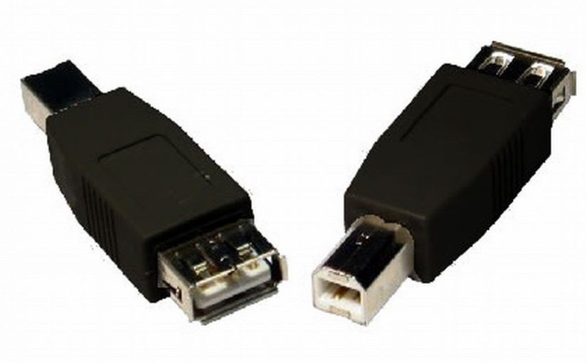 USB 2.0 Adapter/Convertor A female to B male