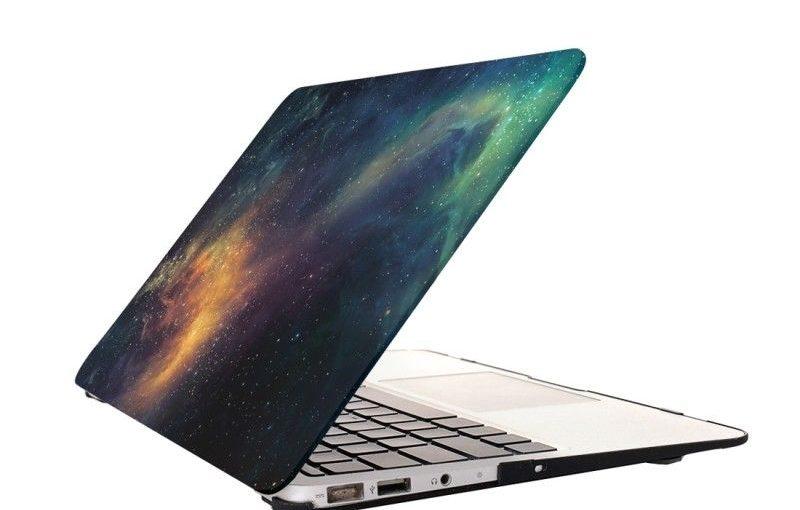 Housse Mac Macbook Pro 15,4 pouces Starry Sky modèles d'Apple Laptop Stickers ea