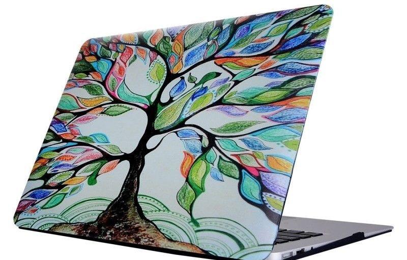 Housse Mac Macbook Retina A1534 12 pouces Motif Arbre peint Laptop Stickers eau