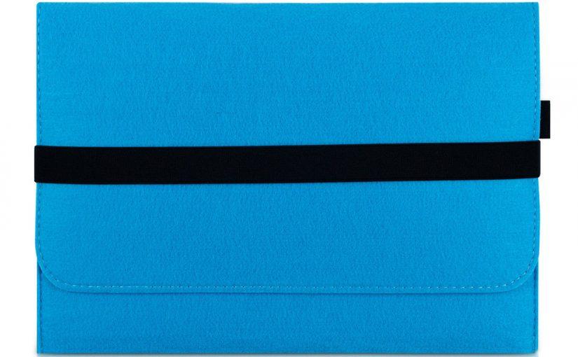 HOUSSE PROTECTION POUR 11″ 11,6″ LAPTOP TABLET PORTABLE ETUI SAC BLEU ULTRABOOK