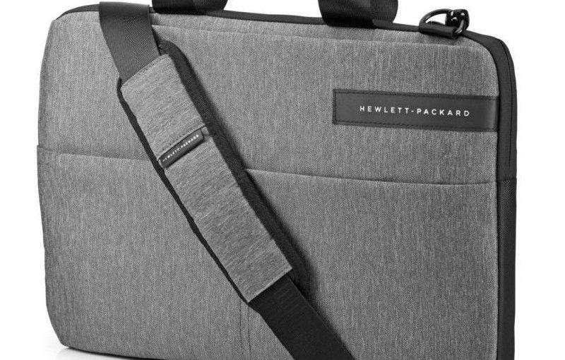 HP Sacoche pour ordinateur portable – Signature Slim Topload – 14″ – Noir / Gris