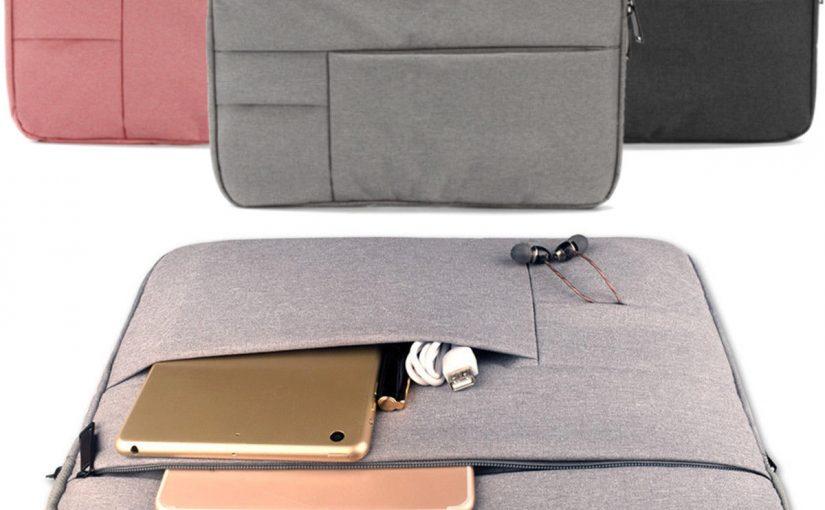 Mince Housse Étui Ordinateur Portable Sac Pochette Poche pour MacBook 13.3″ 14″