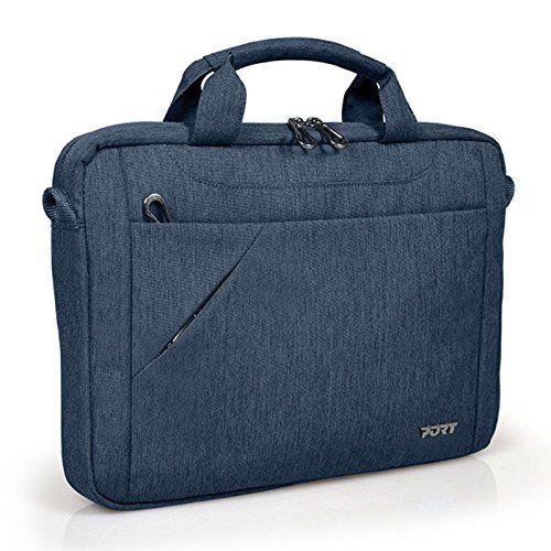 Port Designs 135077 Sacoche avec bandoulière pour Ordinateur Portable Bleu Jean