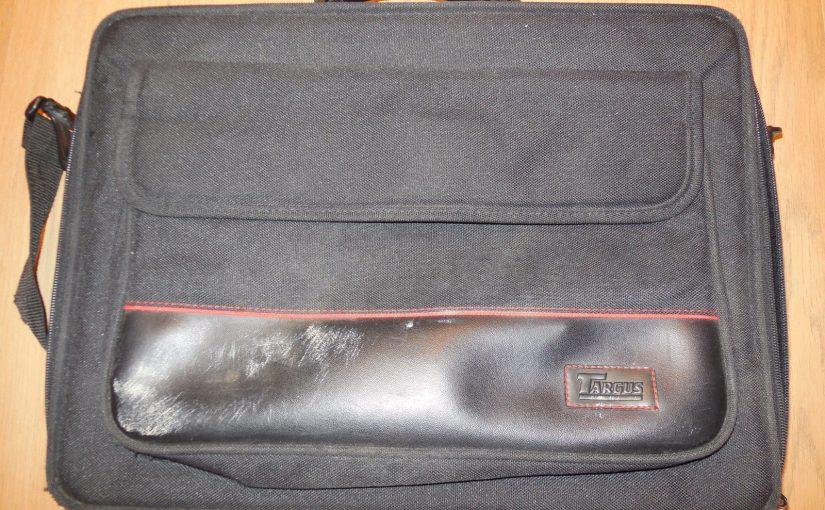 Sacoche noire pour ordinateur portable Targus