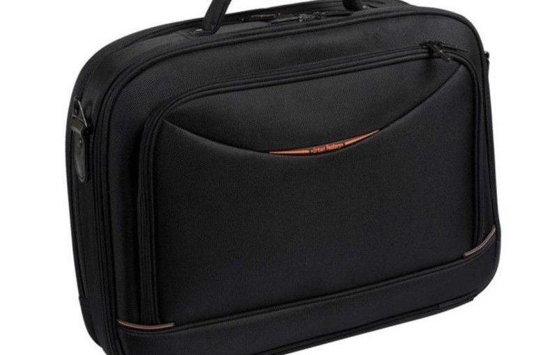 URBAN FACTORY Sacoche pour ordinateur portable – City Classic – 15.6″ – Noir